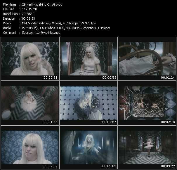 Kerli video screenshot