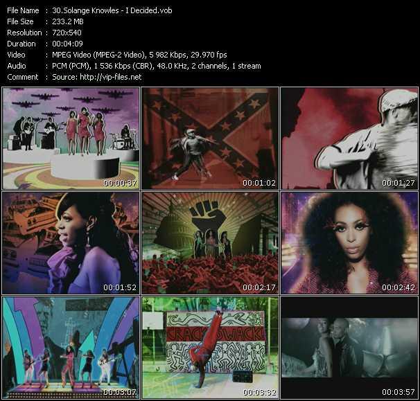 Solange Knowles video screenshot