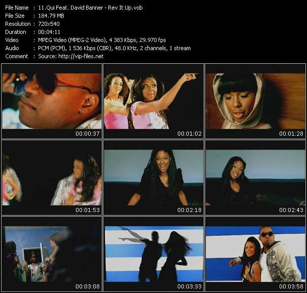 Qui Feat. David Banner video screenshot