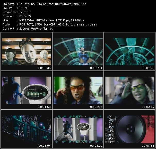 Love Inc. video screenshot