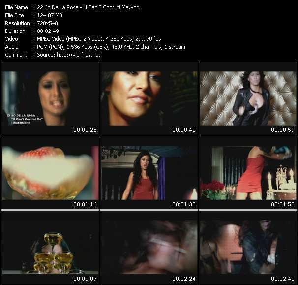 Jo De La Rosa video screenshot