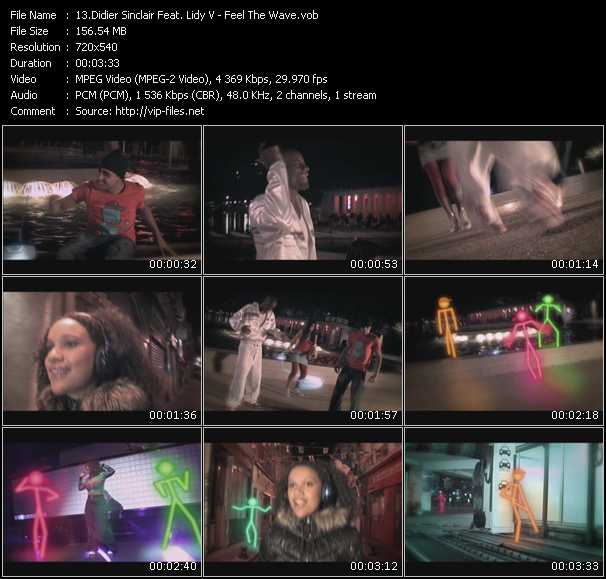 Didier Sinclair Feat. Lidy V video screenshot
