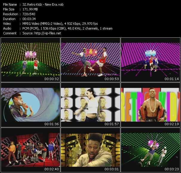 Retro Kidz video screenshot