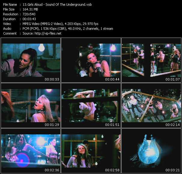 video Sound Of The Underground screen