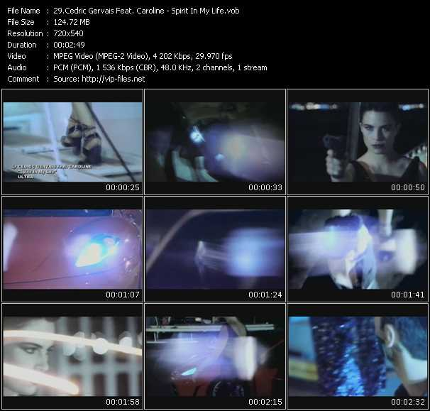 Cedric Gervais Feat. Caroline video screenshot