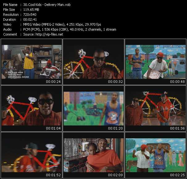 Cool Kids video screenshot