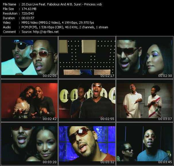 Duo Live Feat. Fabolous And Al B. Sure! video screenshot