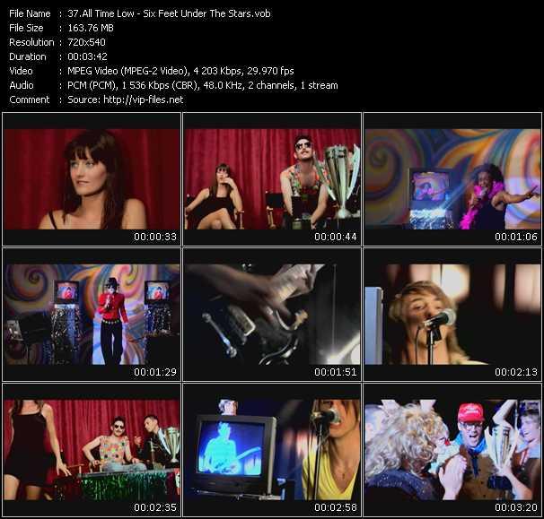video Six Feet Under The Stars screen