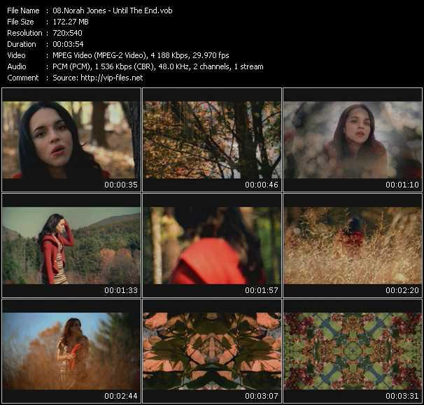 Norah Jones video screenshot
