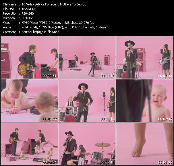 Veils video screenshot