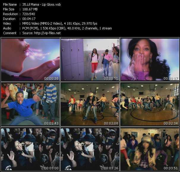 Lil' Mama video screenshot