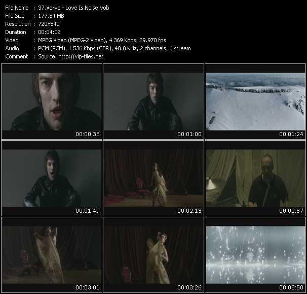 Verve video screenshot