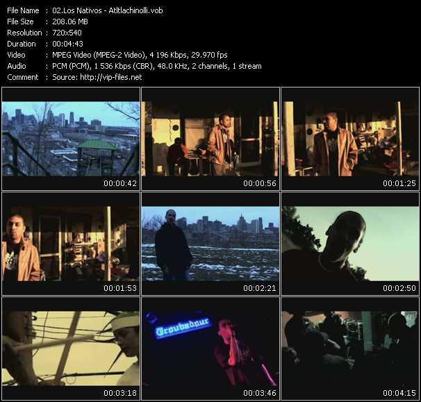 Los Nativos video screenshot