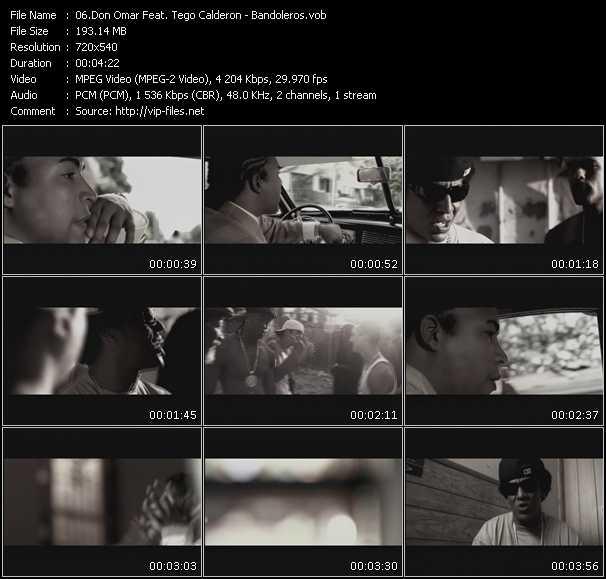 video Bandoleros screen