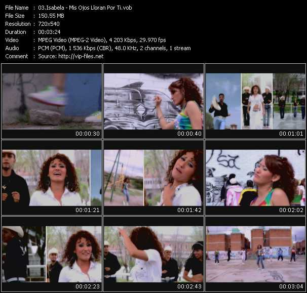 Isabela video screenshot