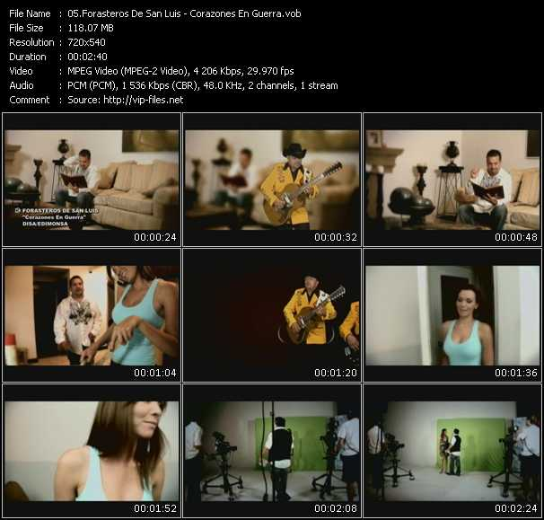 Forasteros De San Luis video screenshot