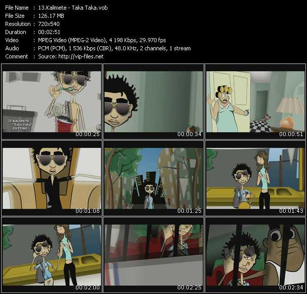Kalimete video screenshot