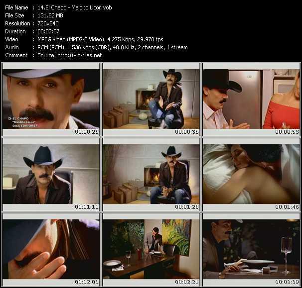 El Chapo video screenshot