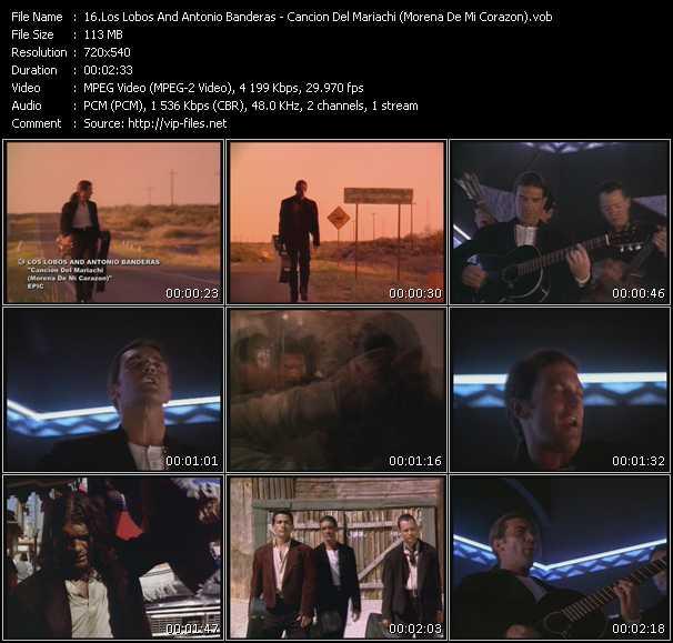 Los Lobos And Antonio Banderas video screenshot