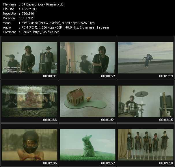 Babasonicos video screenshot