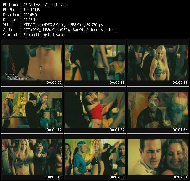 Azul Azul video screenshot