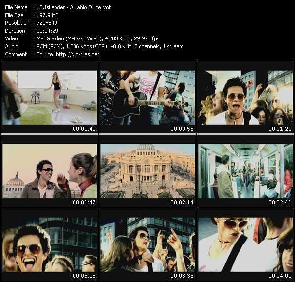 Iskander video screenshot