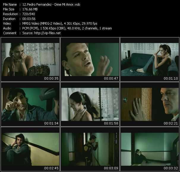 Pedro Fernandez video screenshot