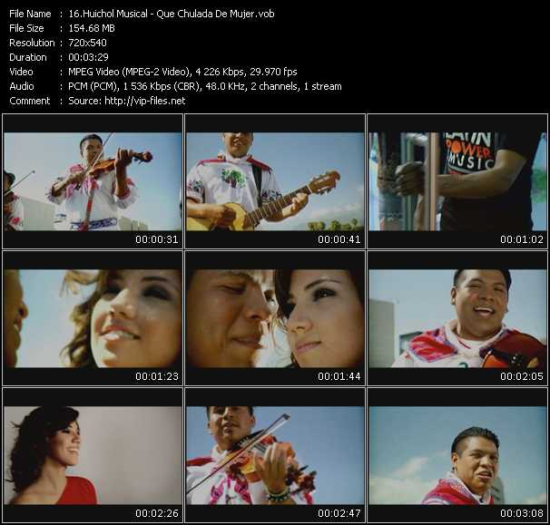 Huichol Musical video screenshot