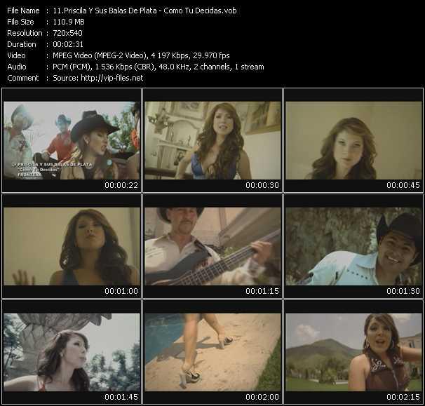 Priscila Y Sus Balas De Plata video screenshot