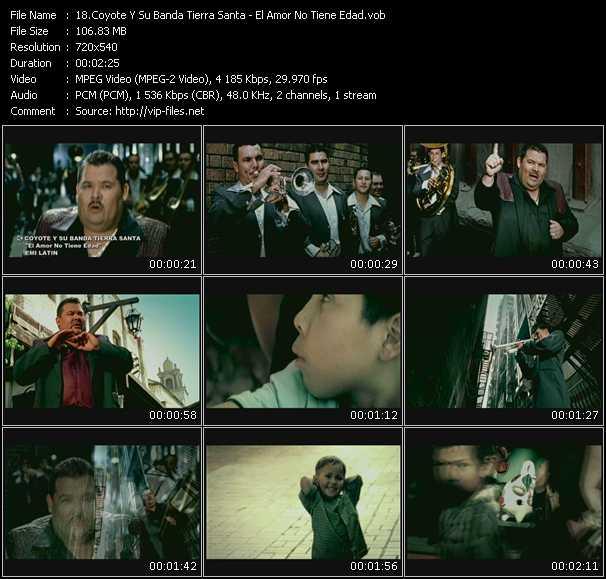Coyote Y Su Banda Tierra Santa video screenshot