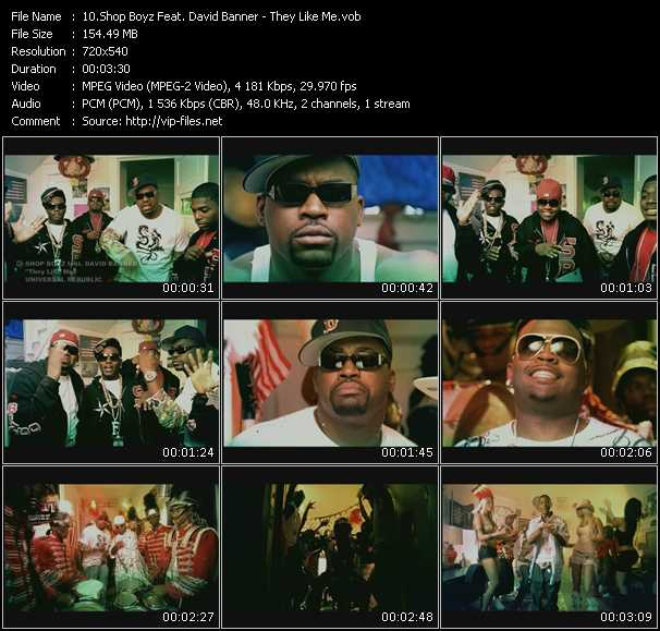 Shop Boyz Feat. David Banner video screenshot