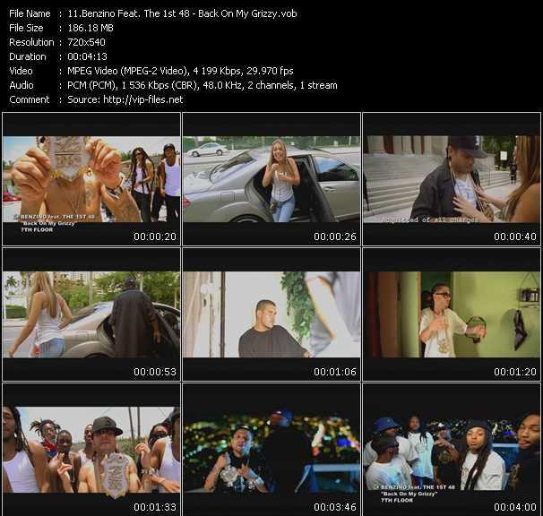 Benzino Feat. The 1st 48 video screenshot
