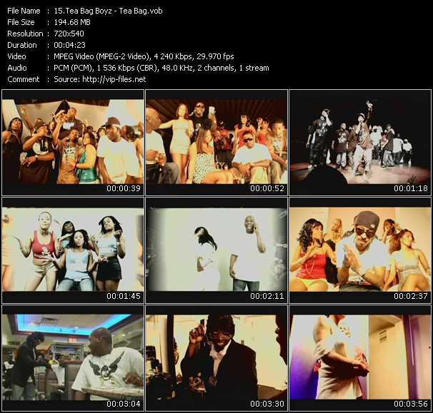Tea Bag Boyz video screenshot
