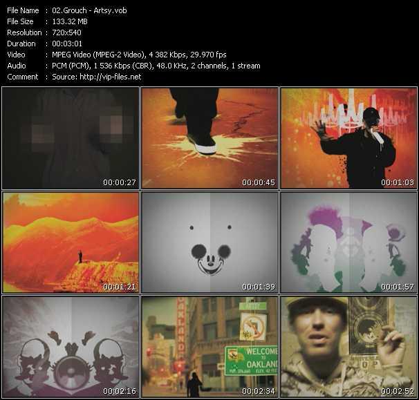 Grouch video screenshot
