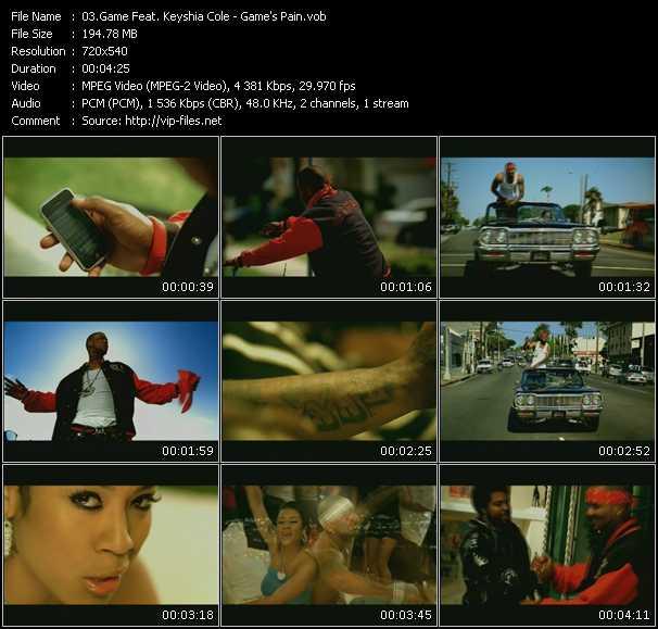 Game Feat. Keyshia Cole video screenshot