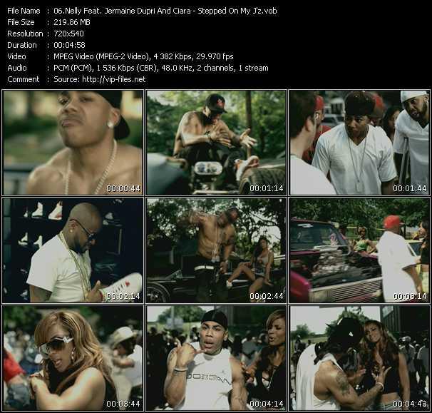Nelly Feat. Jermaine Dupri And Ciara video screenshot