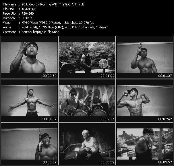 LL Cool J video screenshot