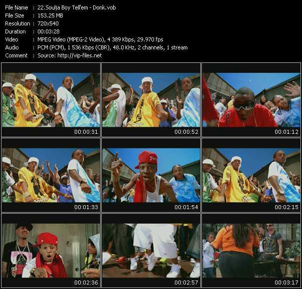 Soulja Boy Tell 'Em video screenshot