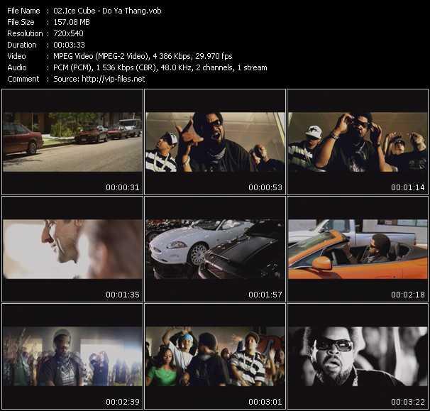 Ice Cube video screenshot