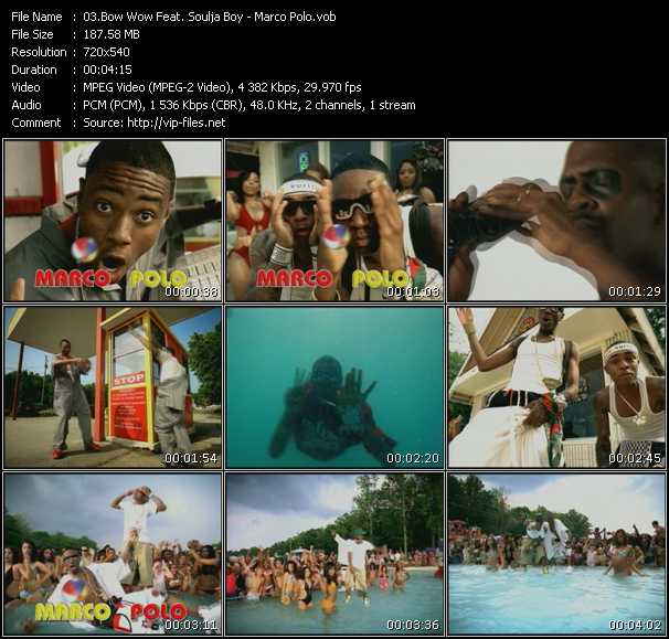 Bow Wow Feat. Soulja Boy Tell 'Em video screenshot
