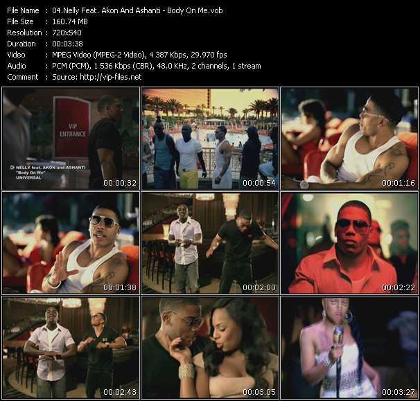 Nelly Feat. Akon And Ashanti video screenshot
