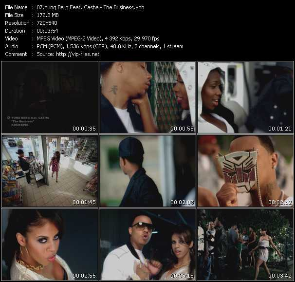 Yung Berg Feat. Casha video screenshot