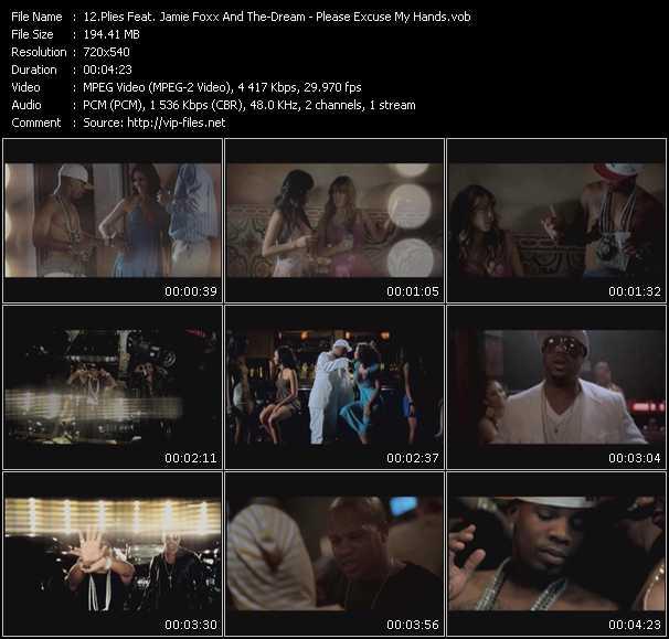 Plies Feat. Jamie Foxx And The-Dream video screenshot