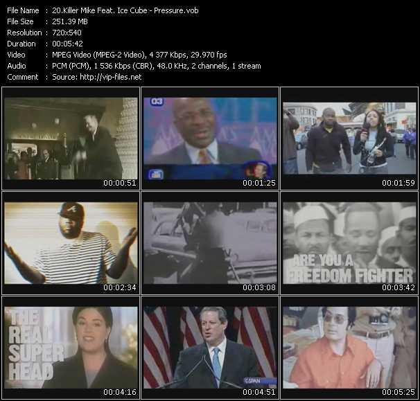 Killer Mike Feat. Ice Cube video screenshot