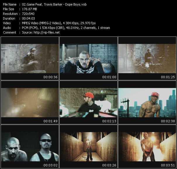 Game Feat. Travis Barker video screenshot