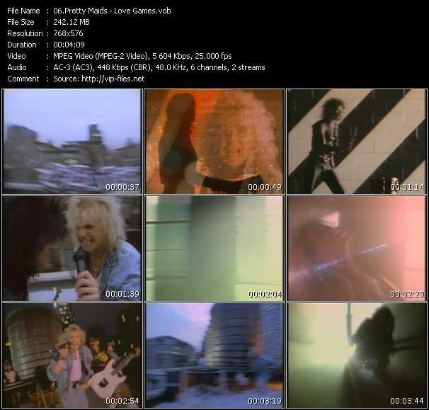 Pretty Maids video screenshot