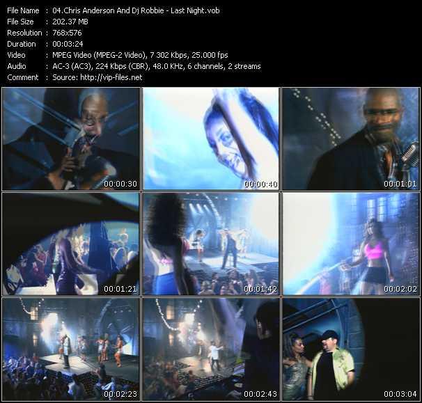 Chris Anderson And Dj Robbie video screenshot