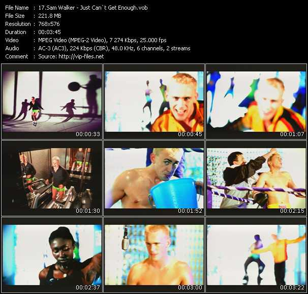 Sam Walker video screenshot