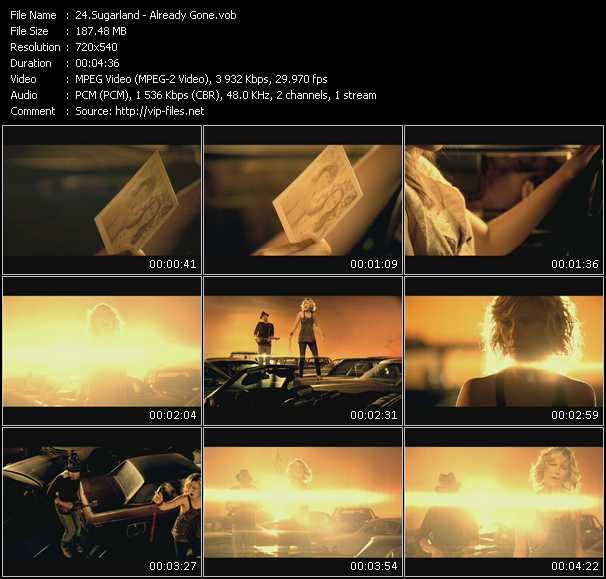 Sugarland video screenshot