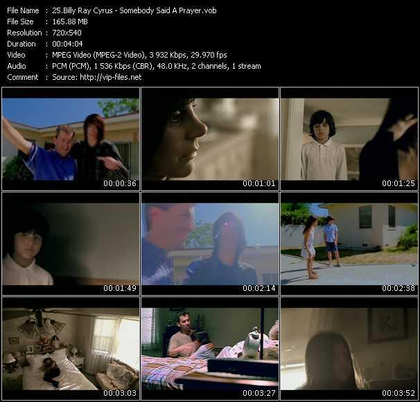 Billy Ray Cyrus video screenshot